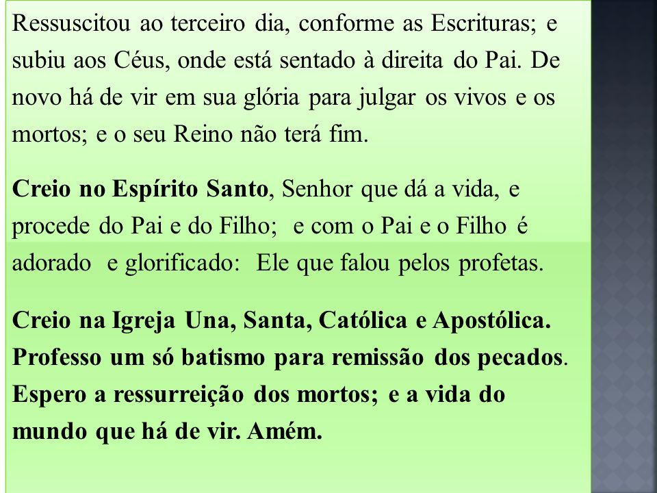 Assim, o bem de Cristo é comunicado a todos os membros, comunicação que se faz através dos sacramentos da Igreja».