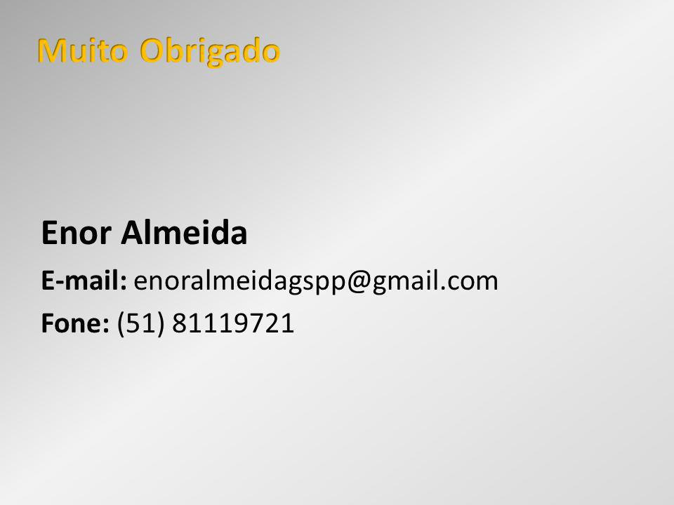 Enor Almeida E-mail: enoralmeidagspp@gmail.com Fone: (51) 81119721