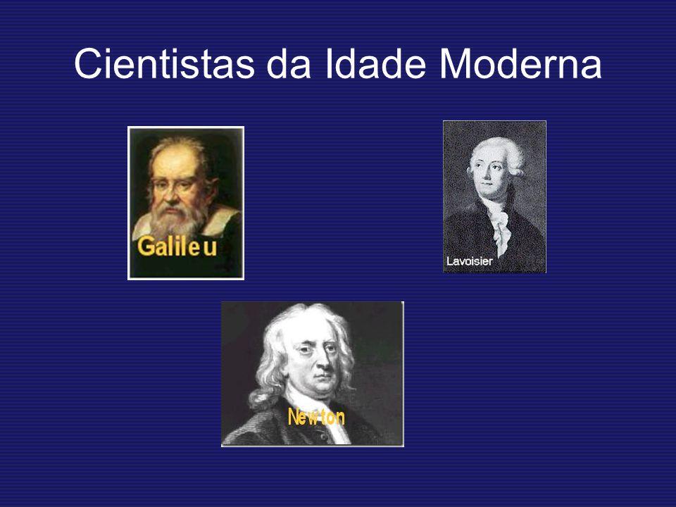 Cientistas da Idade Moderna