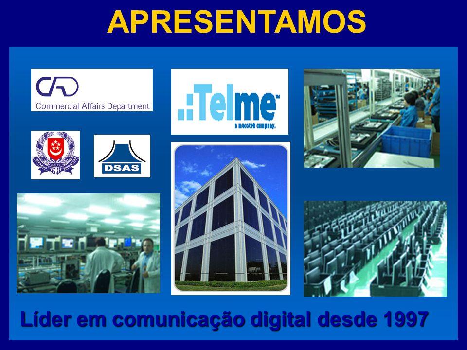 APRESENTAMOS Líder em comunicação digital desde 1997