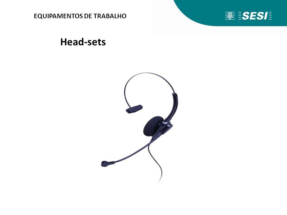 EQUIPAMENTOS DE TRABALHO Head-sets