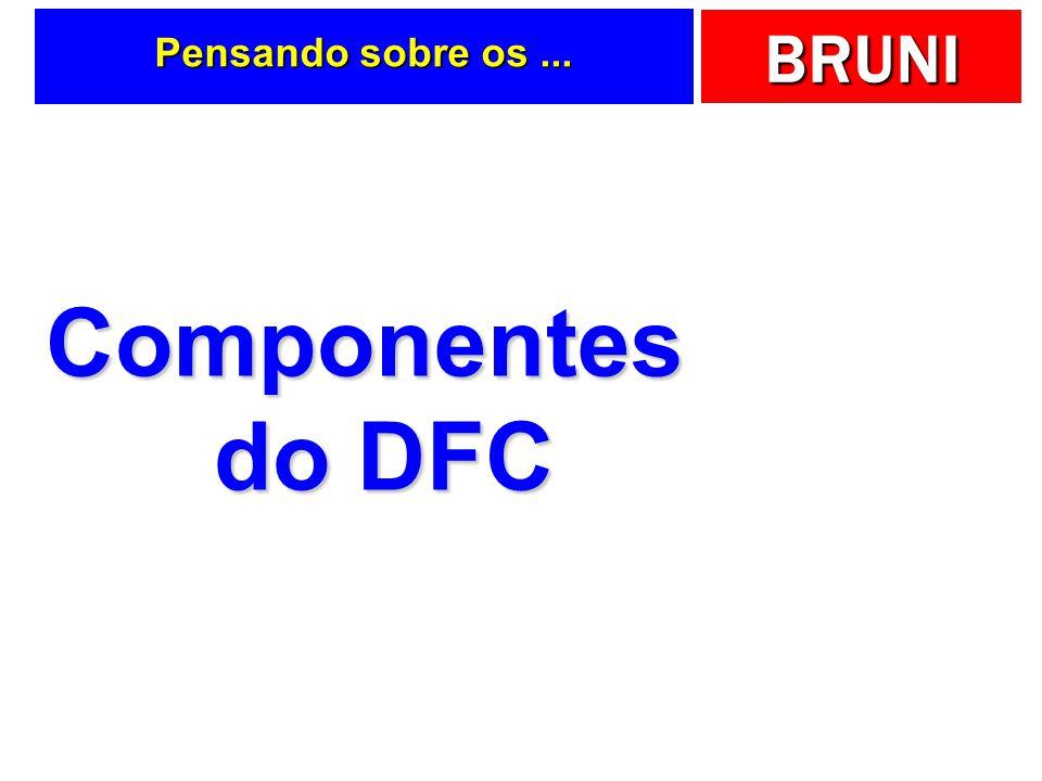 BRUNI Pensando sobre os... Componentes do DFC