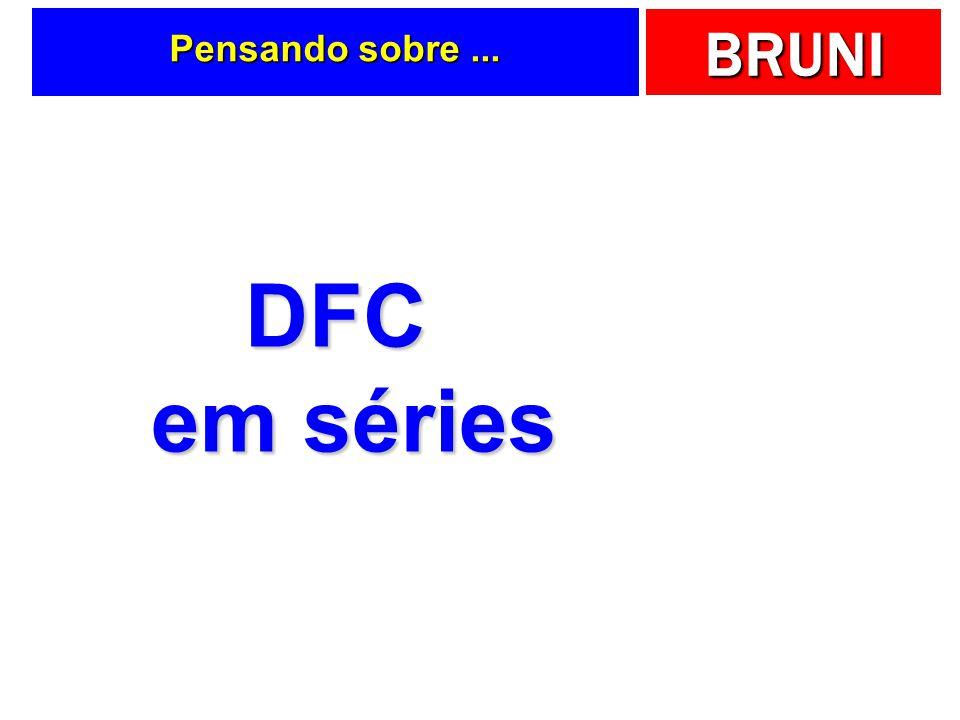 BRUNI Pensando sobre... DFC em séries