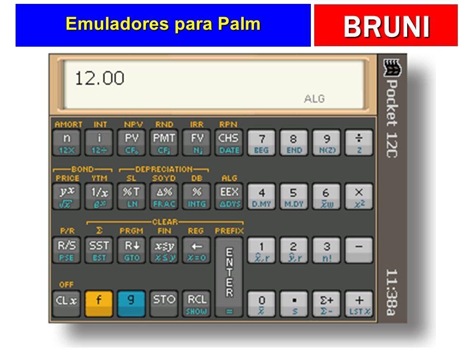 BRUNI Emuladores para Palm