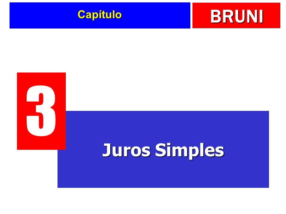 BRUNI Capítulo Juros Simples 3