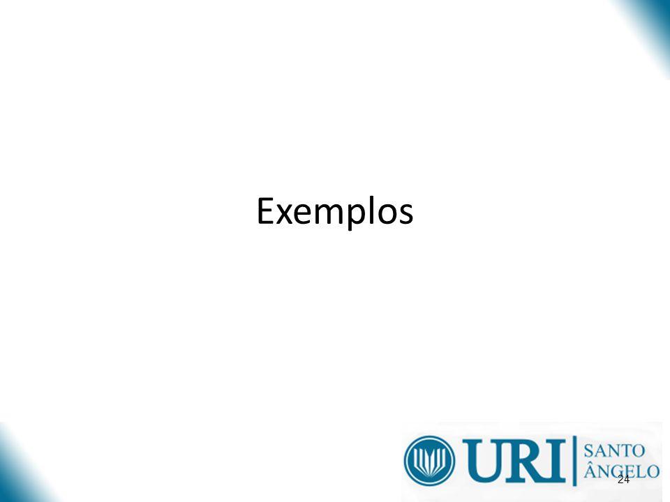 24 Exemplos