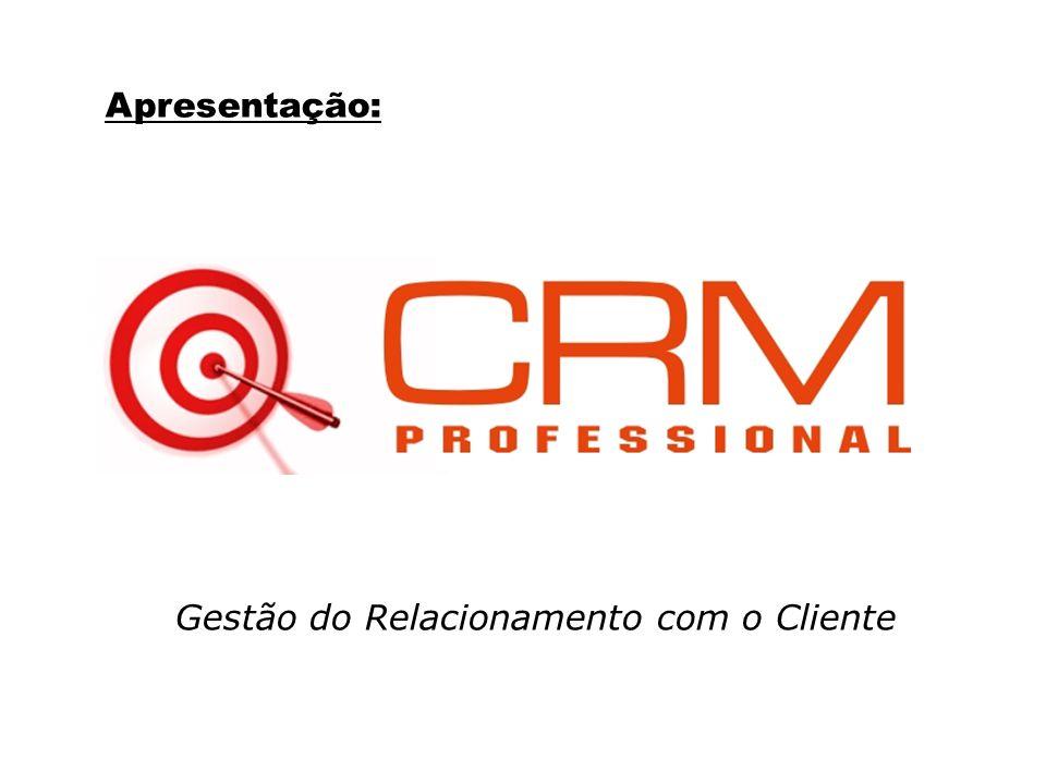 Apresentação: Gestão do Relacionamento com o Cliente