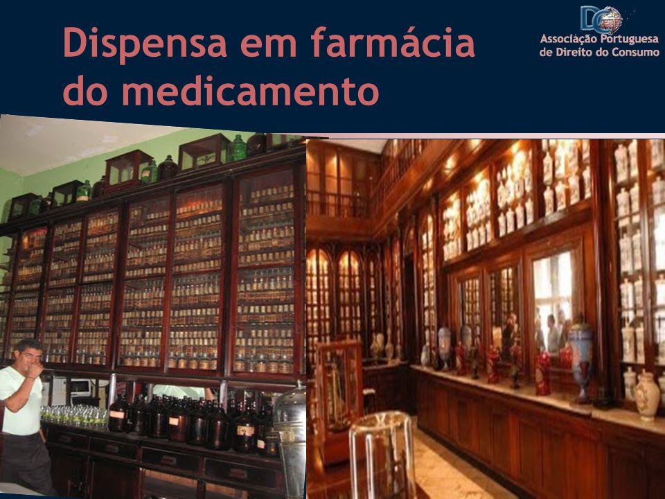 Dispensa em farmácia do medicamento