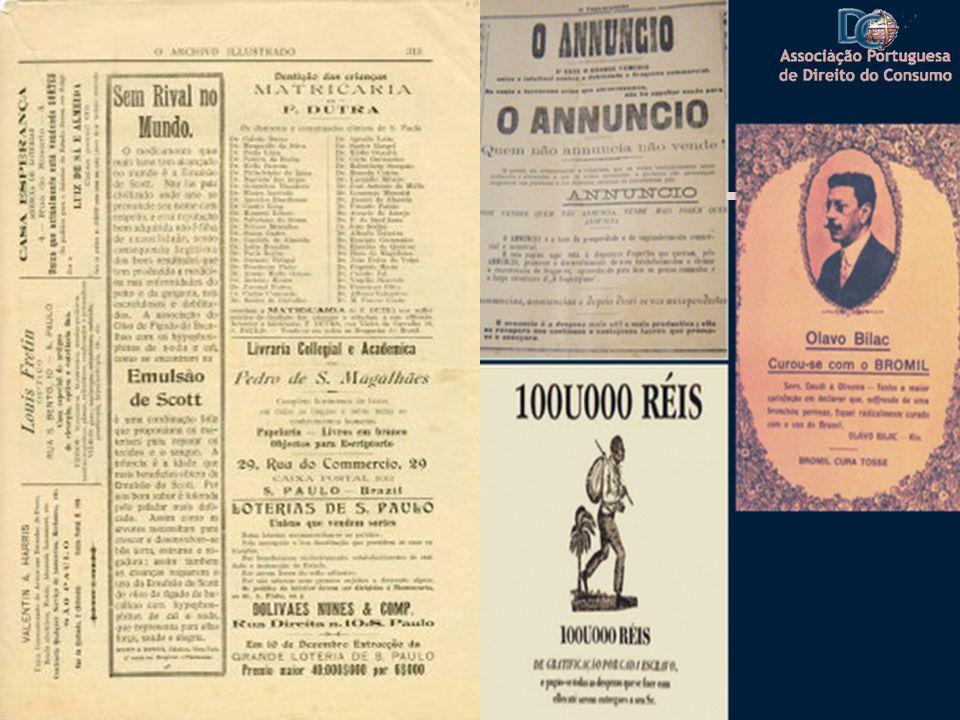 Anos 20 Fervilhava em São Paulo a produção artística Em 1922 com a Semana de Arte moderna gerou-- se um movimento que influenciou toda a forma de expressão da época, incluindo os textos publicitários A luta contra a tuberculose, a sifilis, e a gripe, levou à inclusão nos textos artísticos esta grande preocupação
