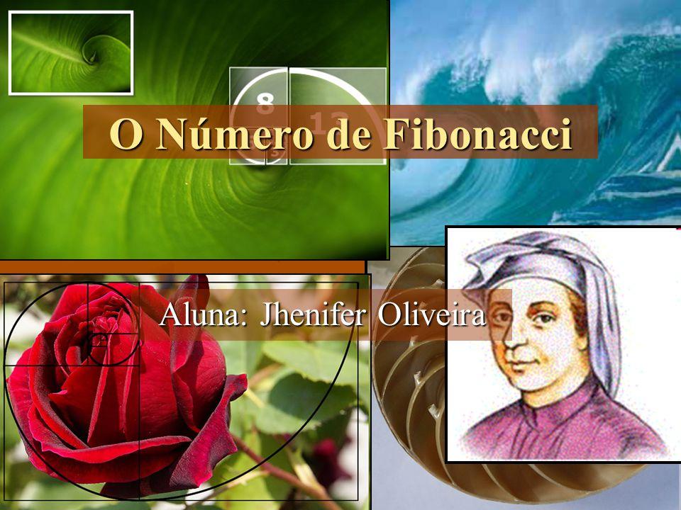 O Número de Fibonacci Aluna: Jhenifer Oliveira