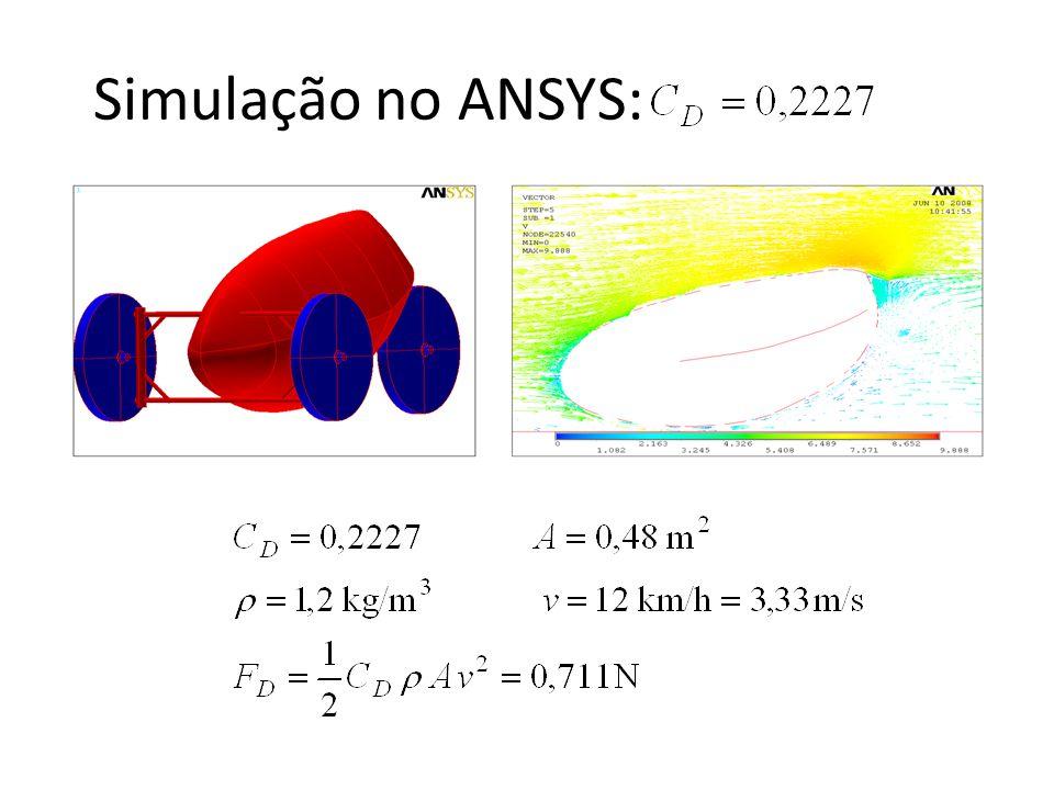 Sobre o arraste: Dependente dos acabamentos e detalhes Podem ser feitos Maquetes ou Mock-ups para ensaios em túneis de vento Podem ser feitos testes de campo (+ eficaz) Considerou-se o modelo em que a força é dependente do quadrado da velocidademodelo