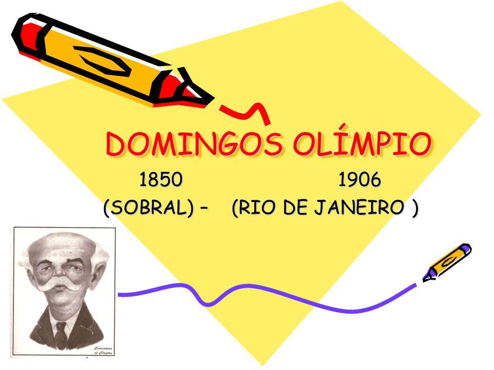 Dados do Autor Nasceu em 18 de setembro de 1850, em Sobral, Ceará Morreu em 6 e outubro de 1906, no Rio de Janeiro, aos 56 anos