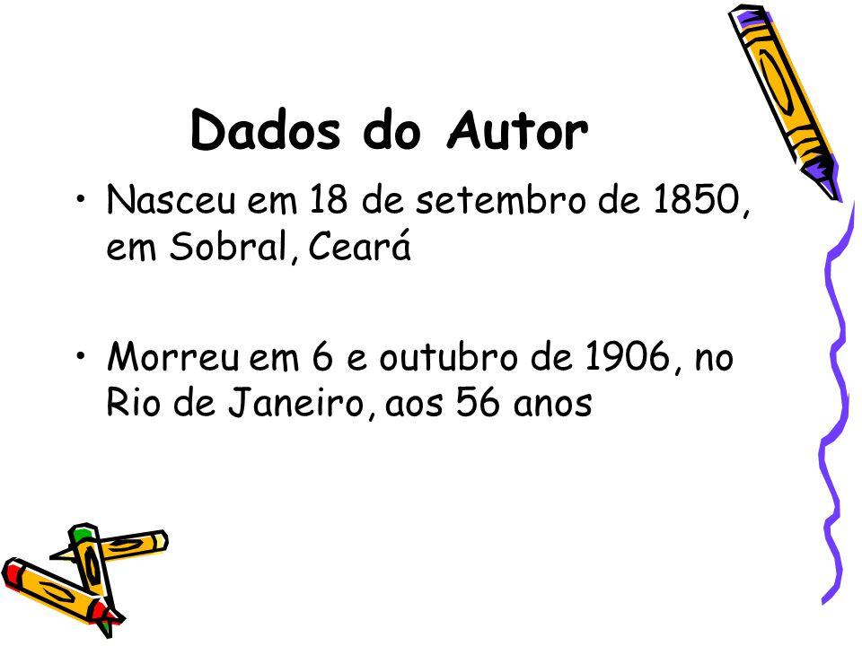 Bacharel em Direito, é nomeado PROMOTOR PÚBLICO DE SOBRAL (1873 – 1878) Transfere-se para o Pará (1878 – 1890) participa ativamente da imprensa local e da vida política.