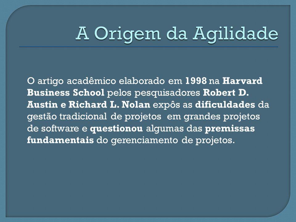 O artigo acadêmico elaborado em 1998 na Harvard Business School pelos pesquisadores Robert D. Austin e Richard L. Nolan expôs as dificuldades da gestã
