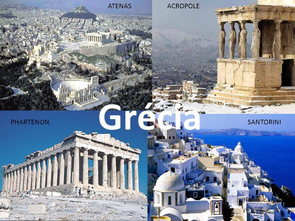 Grécia SANTORINI ACROPOLE PHARTENON ATENAS