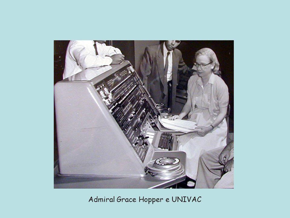 Admiral Grace Hopper e UNIVAC