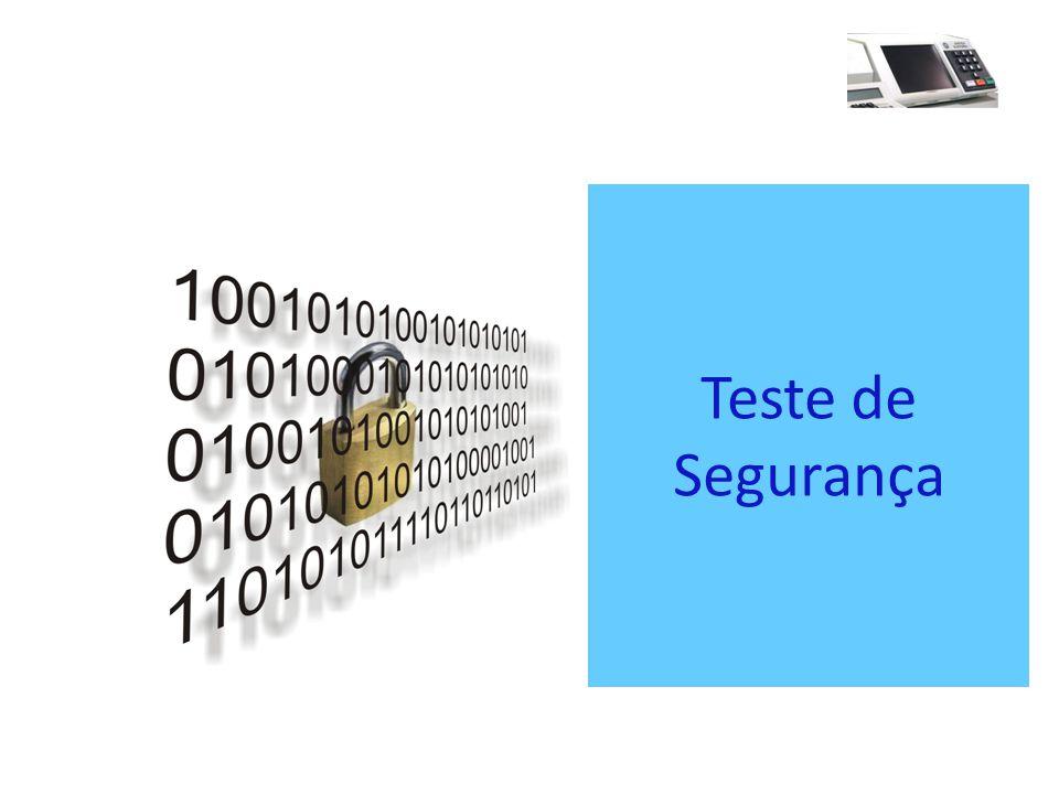 Teste de Segurança