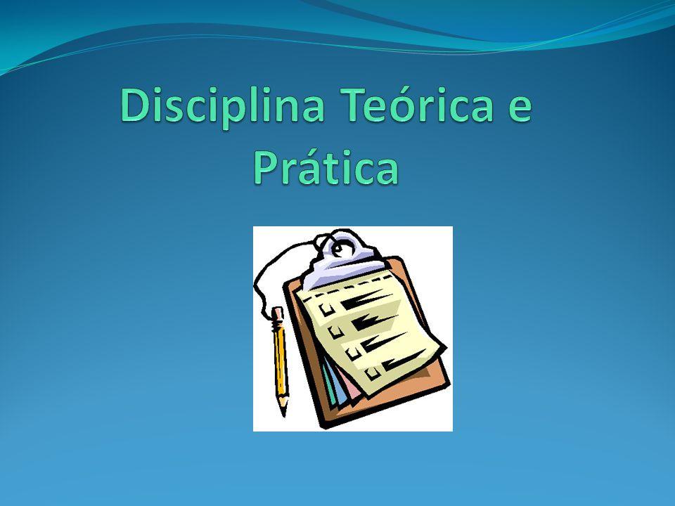 Disciplina com Teoria e Prática No sistema, aparecerão 3 vezes o nome da disciplina (Ex: Anatomia Teórica; Anatomia Prática; Anatomia) A disciplina que traz a nota final, com o pesos, e que indicará a aprovação ou reprovação, é a última (Anatomia)