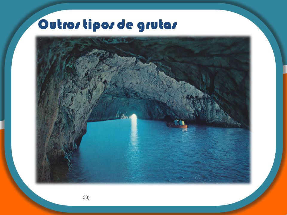 : A teoria da Tectónica de Placas Outros tipos de grutas 33)