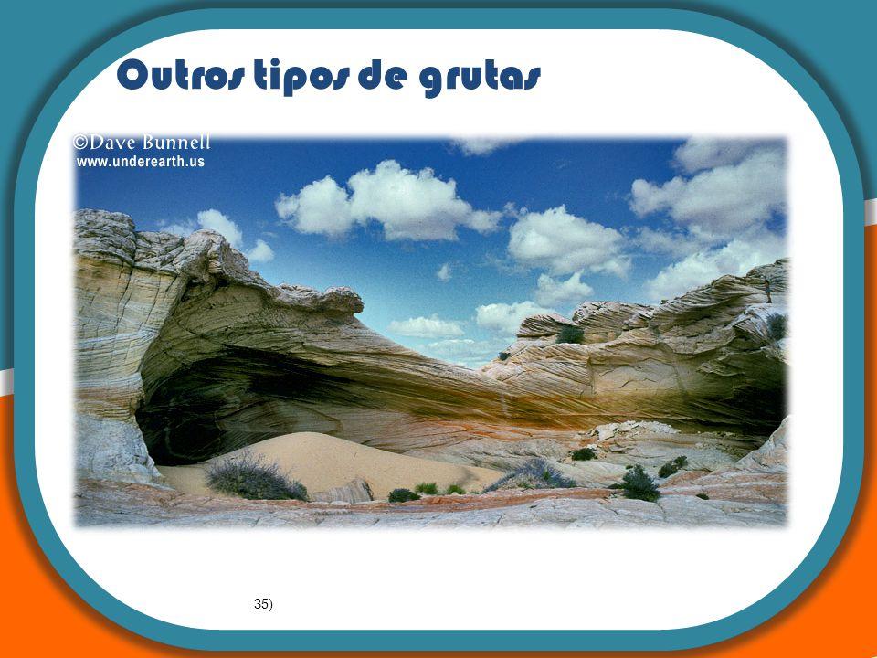 : A teoria da Tectónica de Placas Outros tipos de grutas 35)