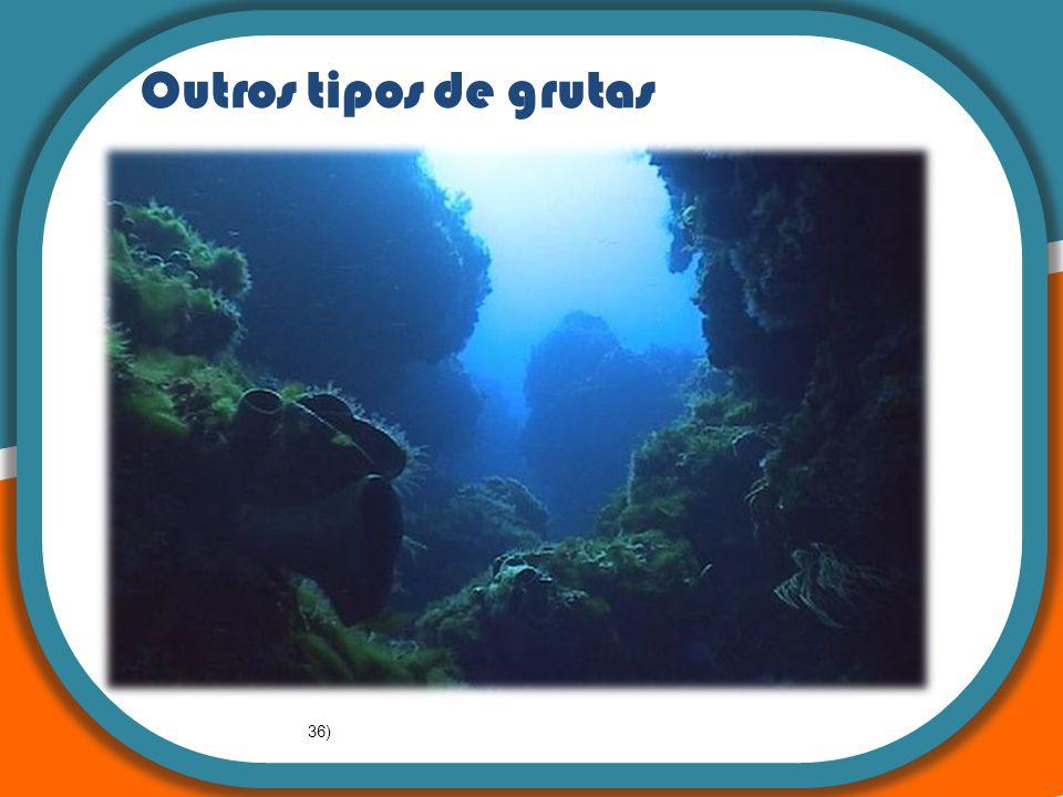 : A teoria da Tectónica de Placas Outros tipos de grutas 36)