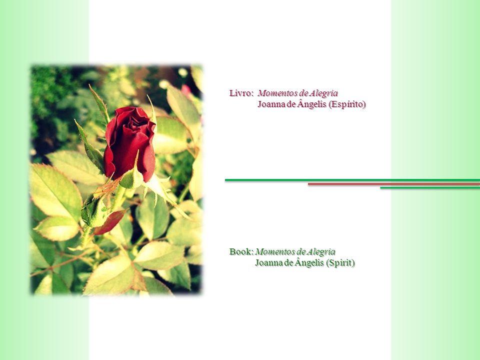 Livro: Momentos de Alegria Joanna de Ângelis (Espírito) Joanna de Ângelis (Espírito) Book: Momentos de Alegria Joanna de Ângelis (Spirit) Joanna de Ângelis (Spirit)