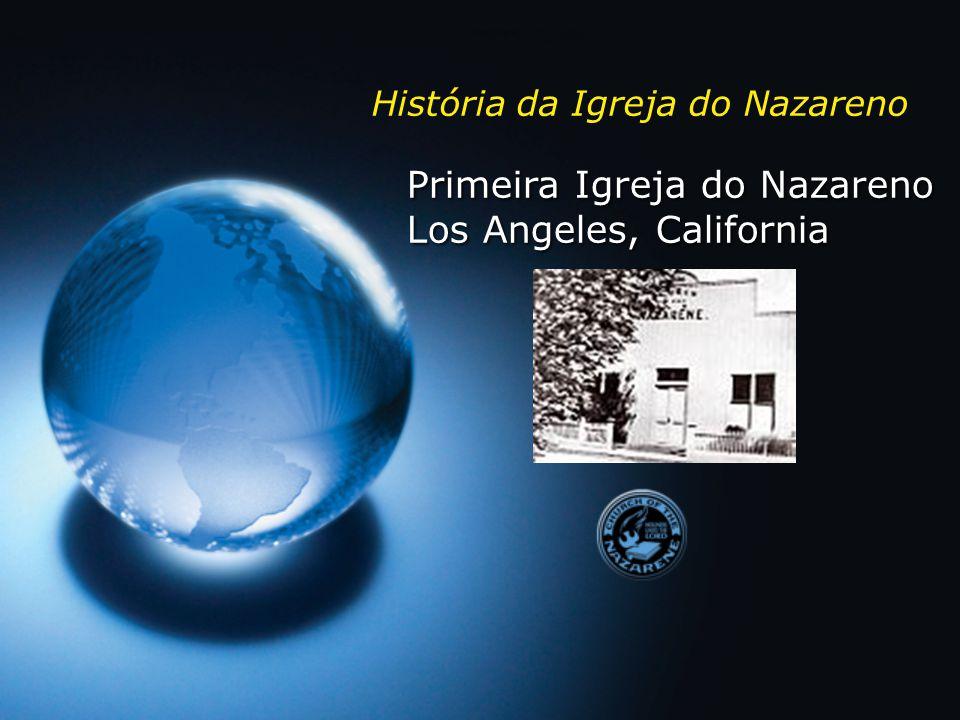 Rev.Phineas Bresee Pastor em Los Angeles Fundador da Igreja do Nazareno Rev.