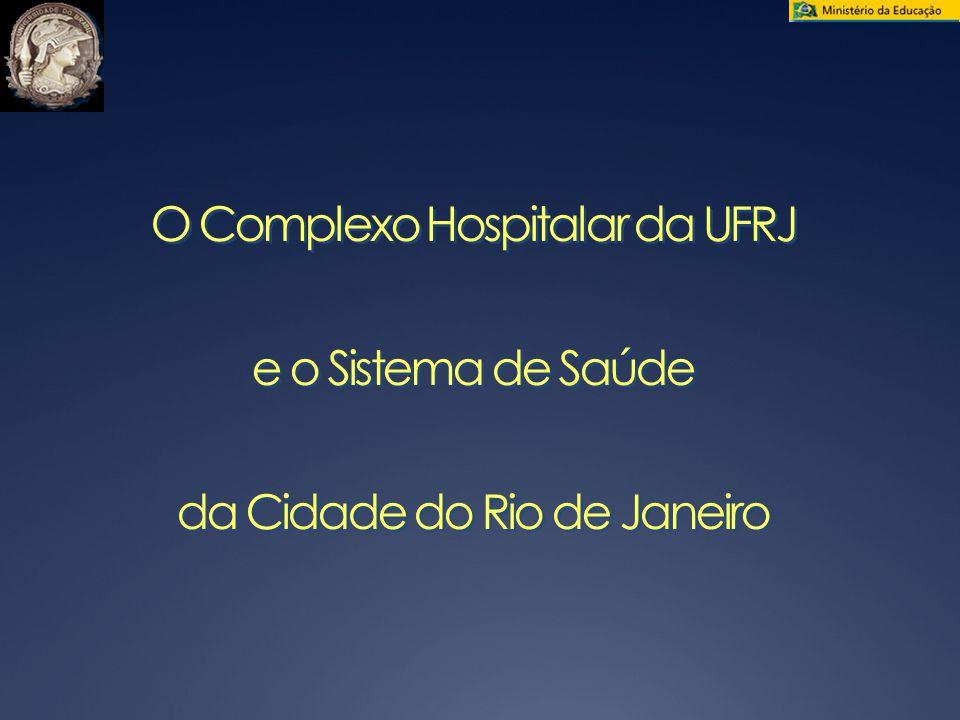 O Complexo Hospitalar da UFRJ e o Sistema de Saúde da Cidade do Rio de Janeiro