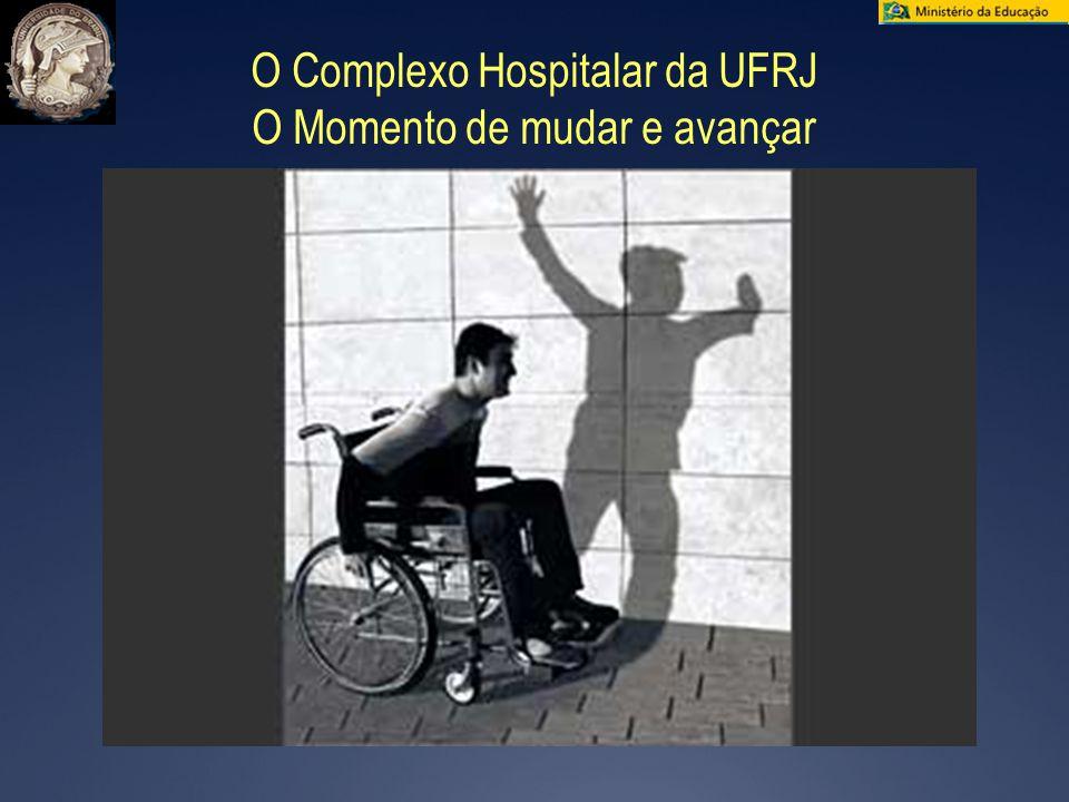 O Complexo Hospitalar da UFRJ O Momento de mudar e avançar