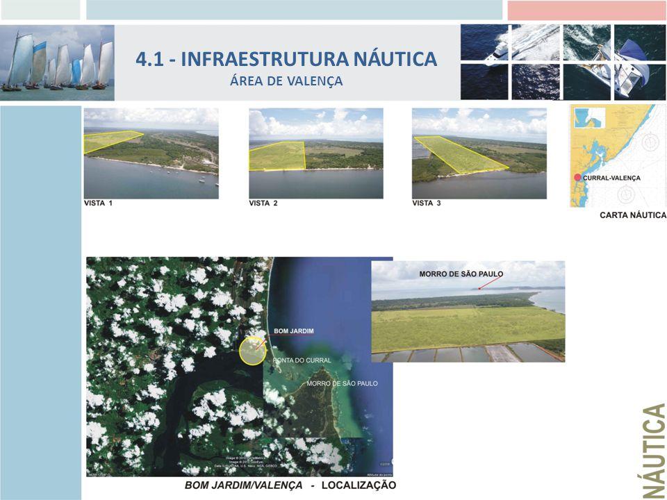 4.1 - INFRAESTRUTURA NÁUTICA ÁREA DE VALENÇA