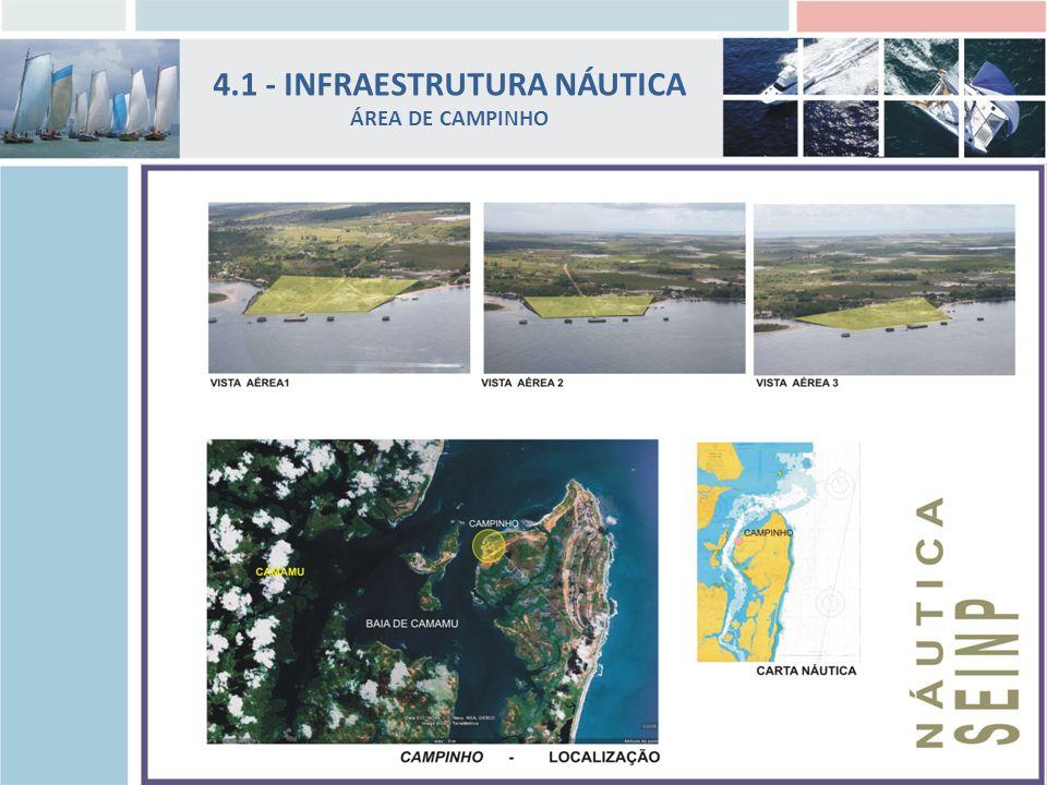 4.1 - INFRAESTRUTURA NÁUTICA ÁREA DE CAMPINHO