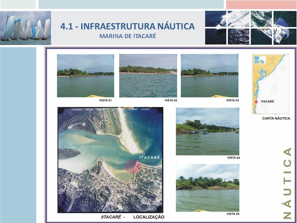 4.1 - INFRAESTRUTURA NÁUTICA MARINA DE ITACARÉ