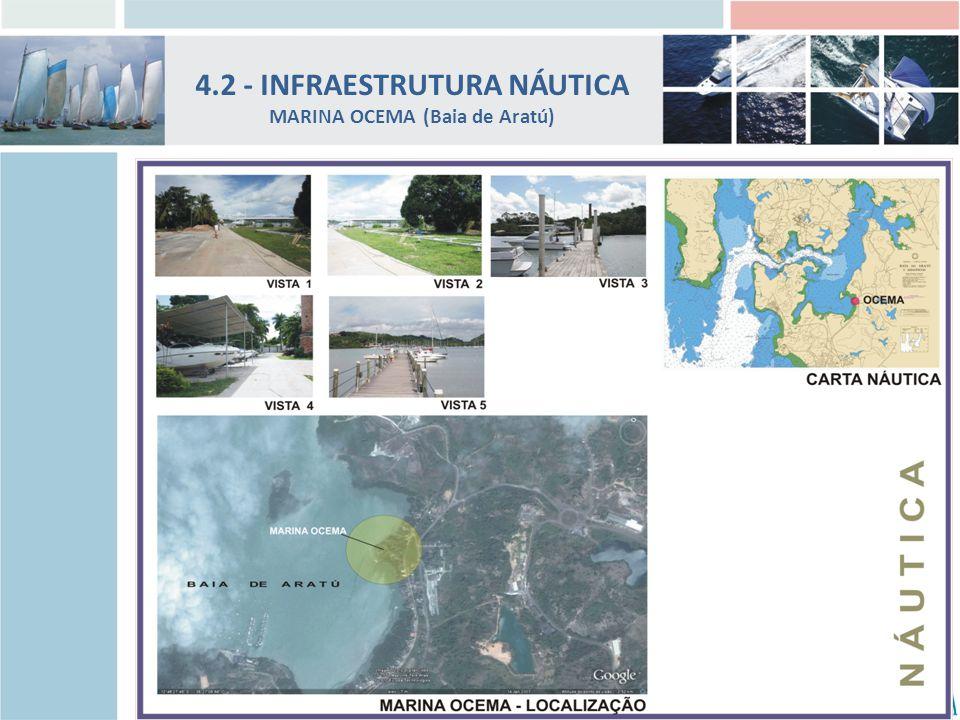 4.2 - INFRAESTRUTURA NÁUTICA MARINA OCEMA (Baia de Aratú)