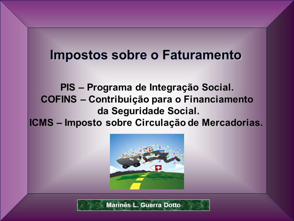 Prof.Dr. José Carlos Marion 37 PIS – Programa de Integração Social.