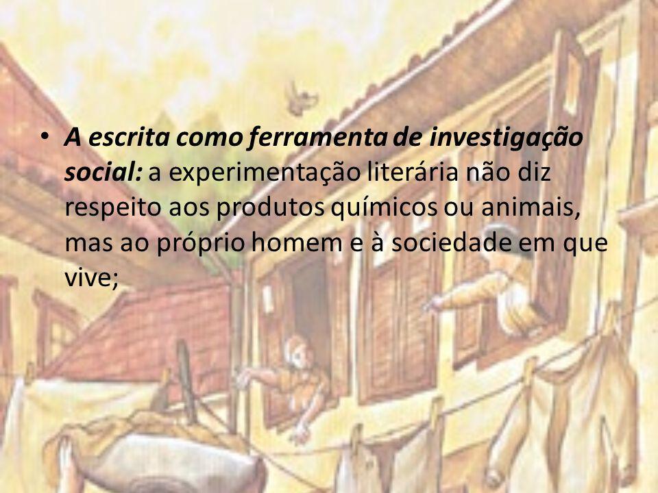 A escrita como ferramenta de investigação social: a experimentação literária não diz respeito aos produtos químicos ou animais, mas ao próprio homem e