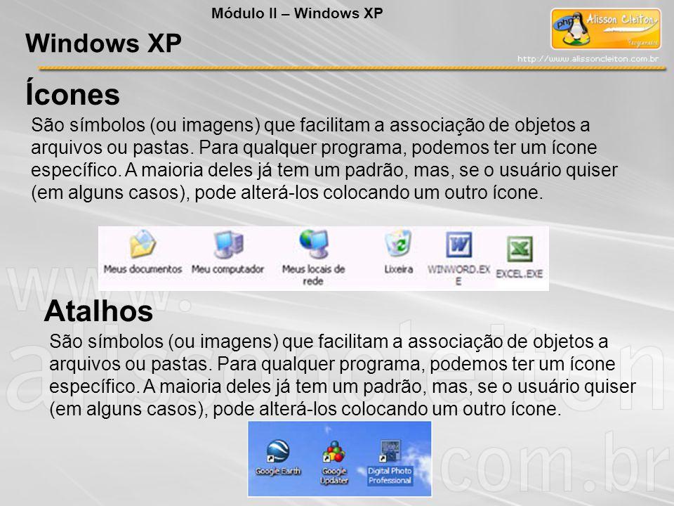 NÃO é um componente exibido na barra de tarefas do Windows XP a) o menu Iniciar.