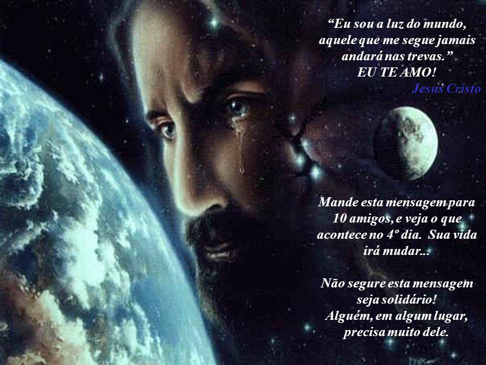 Pai nenhum deste mundo, Abandona um filho, Aceite então as provações a que te submeto, Estas só servirão, para engrandecer teu espírito, E te tornares
