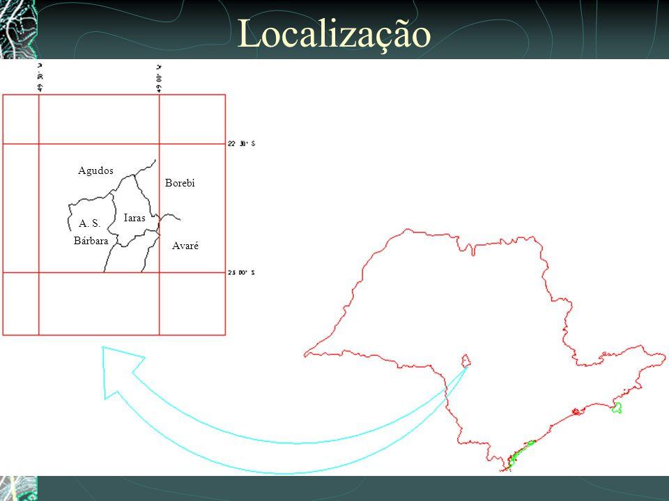 Iaras Borebi Avaré A. S. Bárbara Agudos Localização
