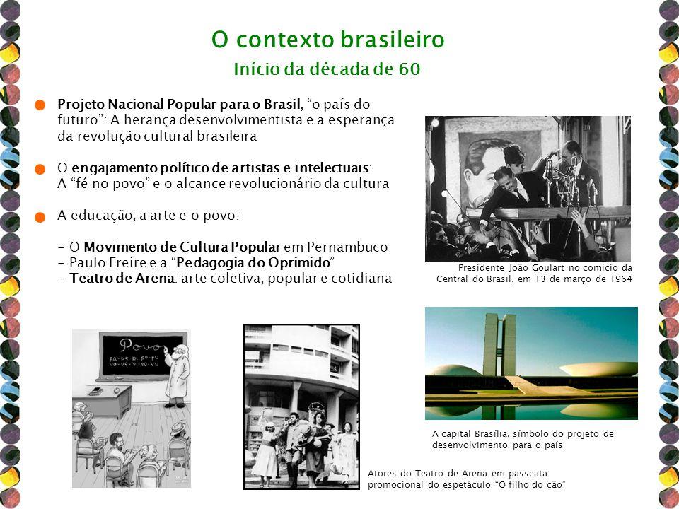 O contexto brasileiro Projeto Nacional Popular para o Brasil, o país do futuro: A herança desenvolvimentista e a esperança da revolução cultural brasi