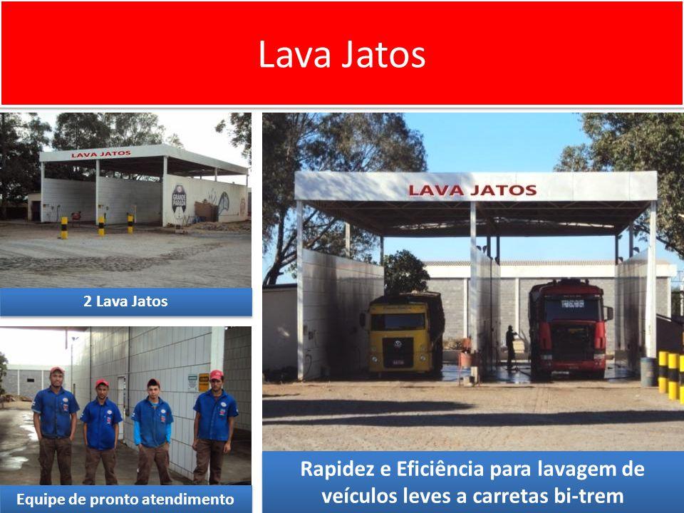 Lava Jatos 2 Lava Jatos Rapidez e Eficiência para lavagem de veículos leves a carretas bi-trem Equipe de pronto atendimento