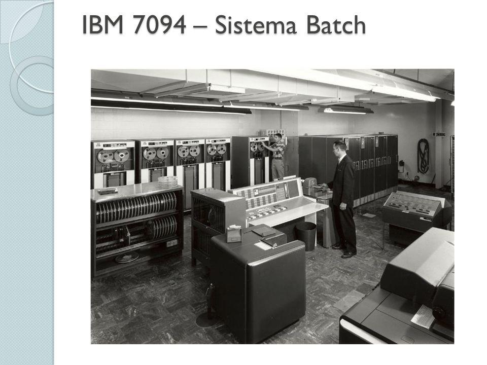 IBM 7094 – Sistema Batch