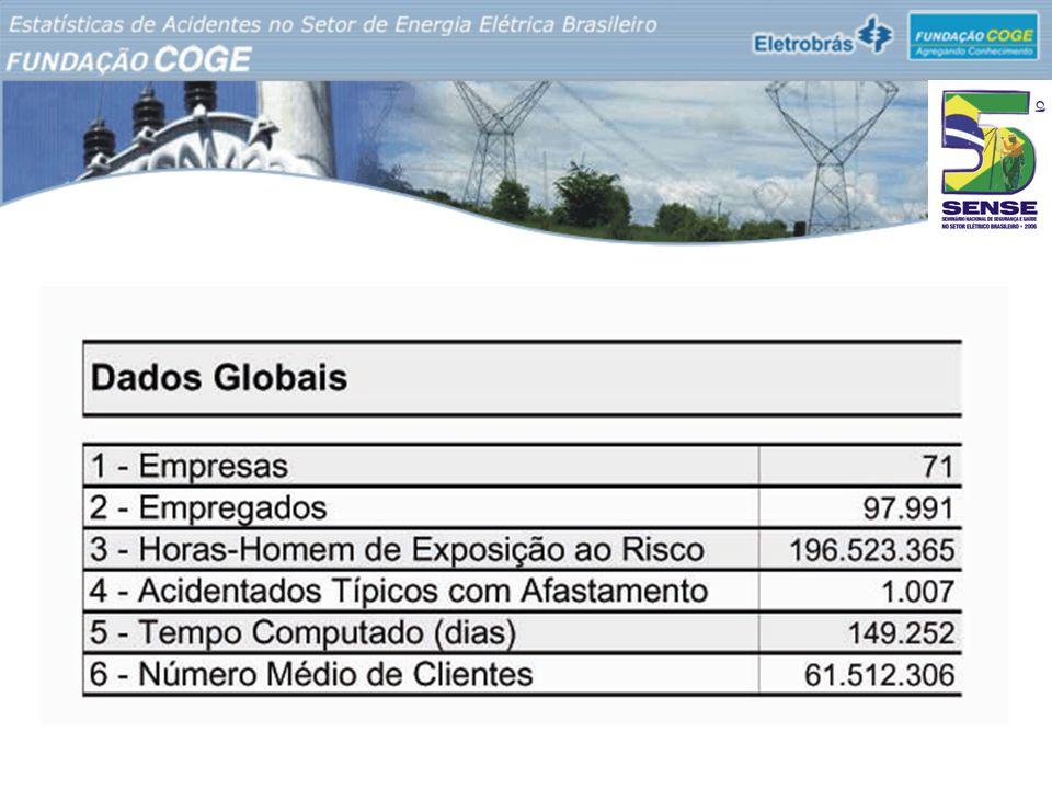 Relatório de Estatísticas de Acidentes no Setor de Energia Elétrica Brasileiro - 2005