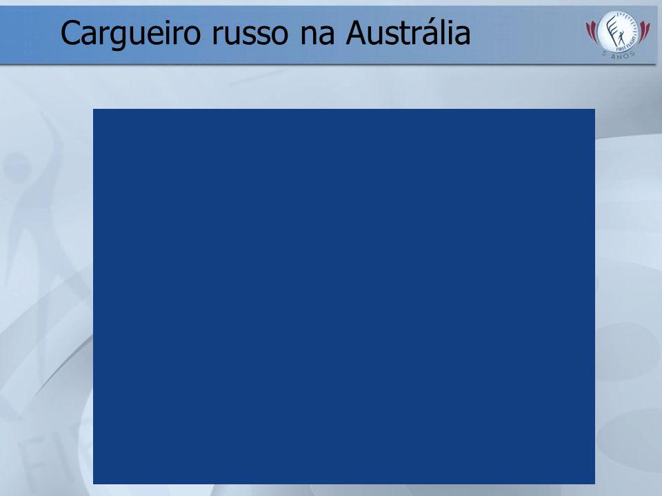Cargueiro russo na Austrália
