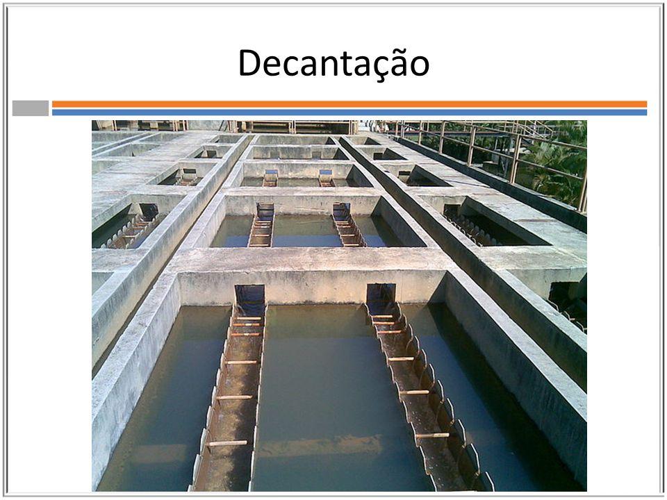 Centrifugação Para se acelerar o processo de decantação ou quando a decantação não funciona, utilizamos a centrifugação.