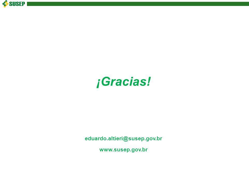 ¡Gracias! eduardo.altieri@susep.gov.br www.susep.gov.br