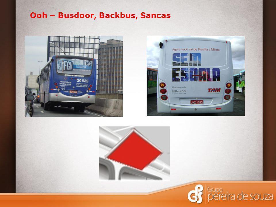 Ooh – Busdoor, Backbus, Sancas Empena (Campinas)