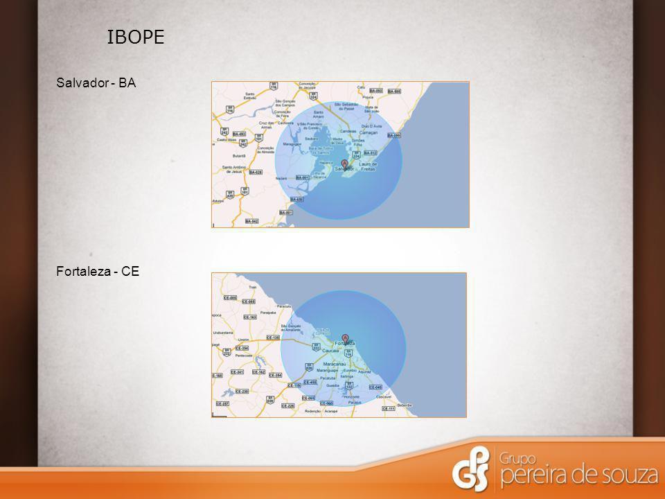 IBOPE Salvador - BA Fortaleza - CE