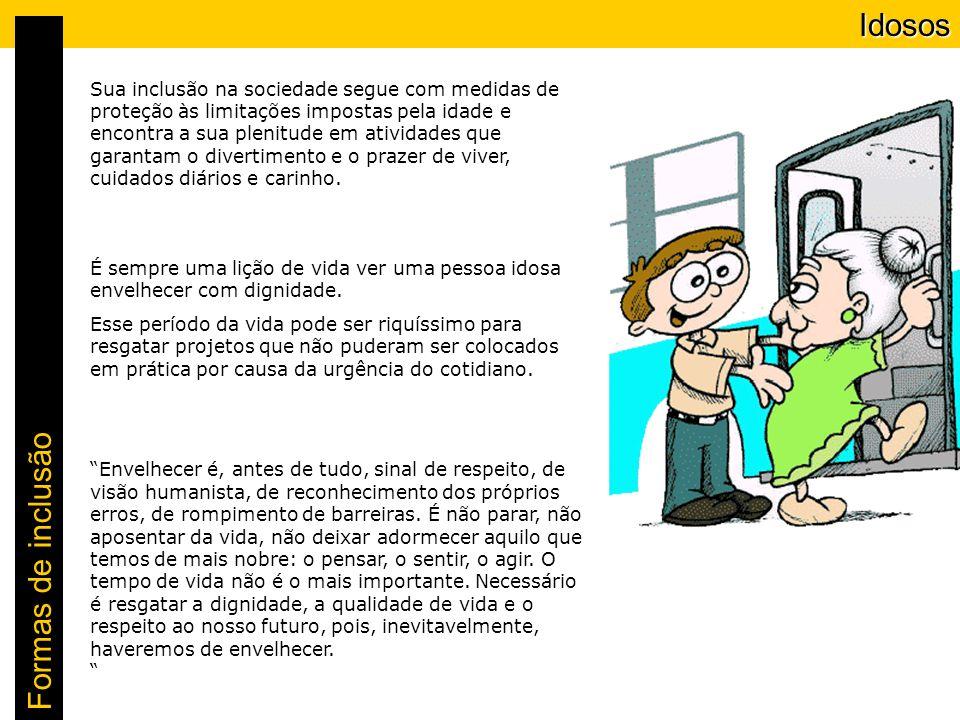 Idosos Idosos Formas de inclusão Saiba o que é crime a partir do Estatuto do Idoso: Folha on-line 27/09/2003 - 17h52