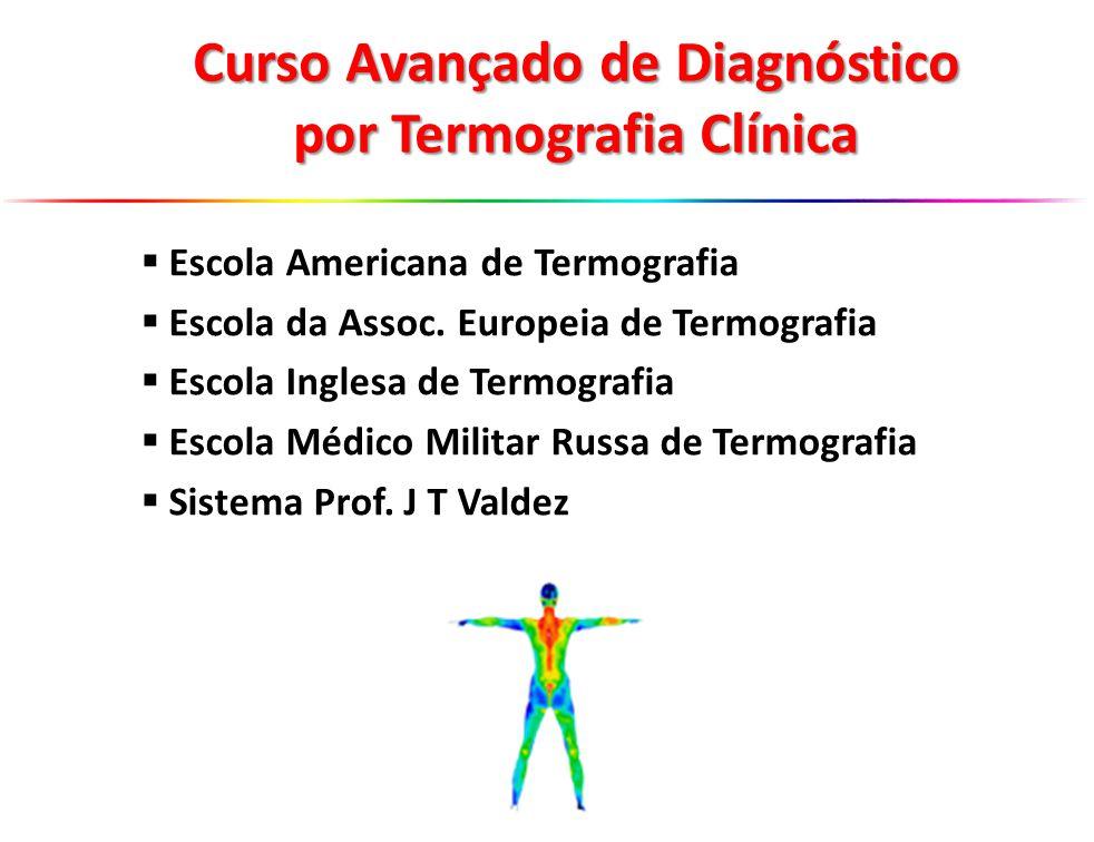 Escola Americana de Termografia Escola da Assoc. Europeia de Termografia Escola Inglesa de Termografia Escola Médico Militar Russa de Termografia Sist