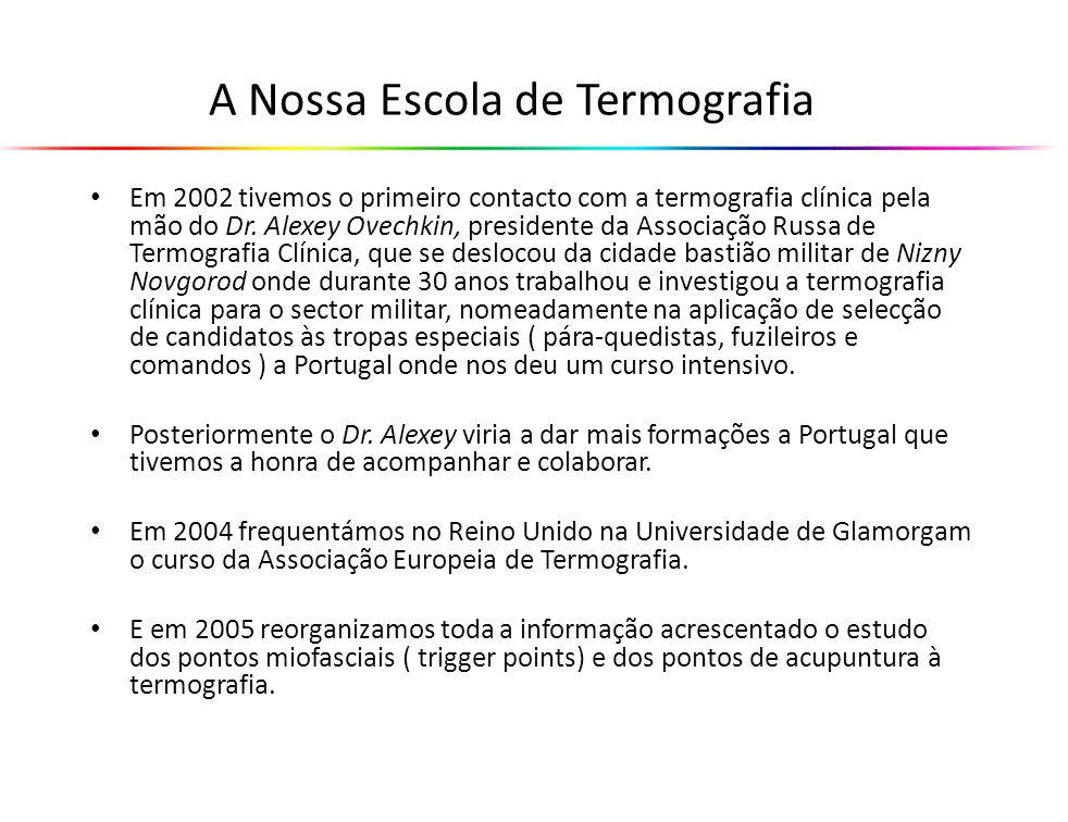 A Câmara Termográfica A aquisição da Câmara Termográfica é separada do Curso.